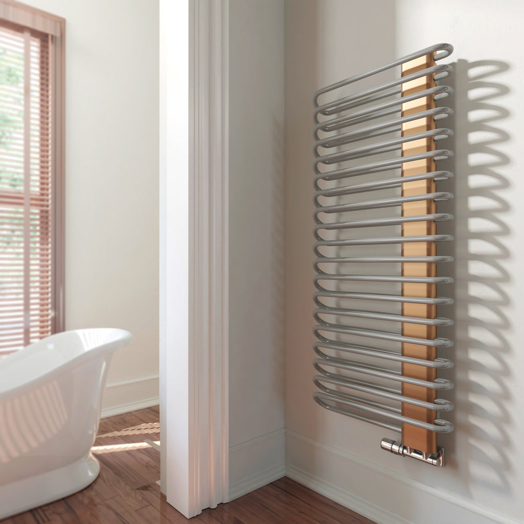 Terma Michelle Copper Designer Towel Rail Radiator