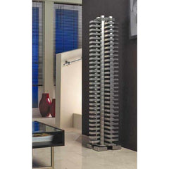 Accuro Korle Totem designer freestanding electric radiator stainless steel high quality