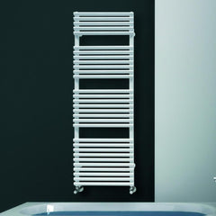 DQ Vulcano White Towel Radiator