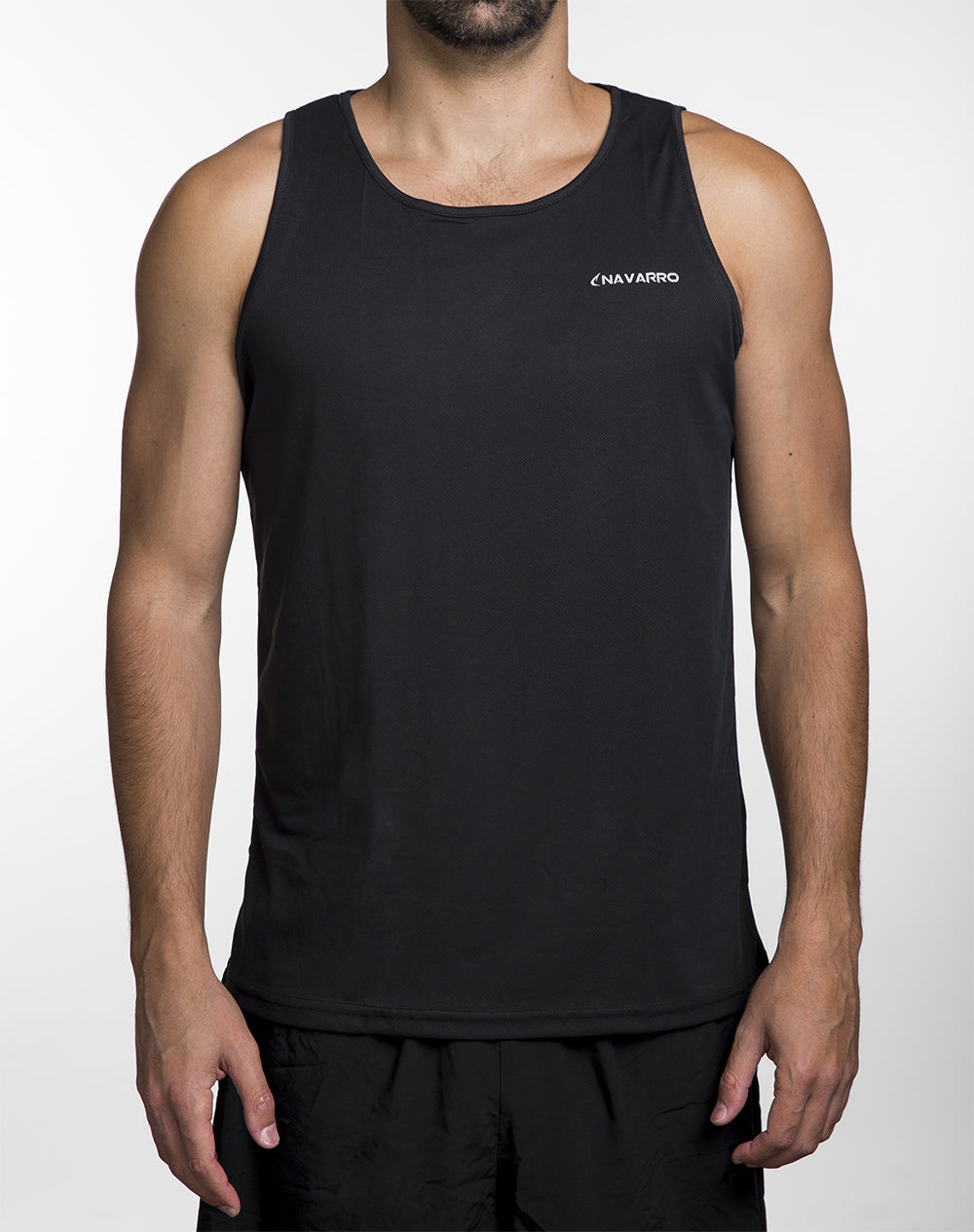 Running Lightweight Tank Top Black גופית ריצה