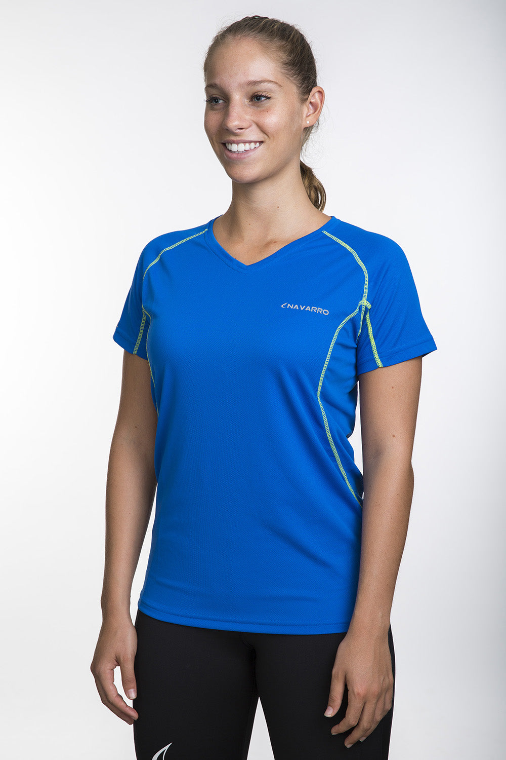 Running Lightweight V Women Blue חולצת ריצה
