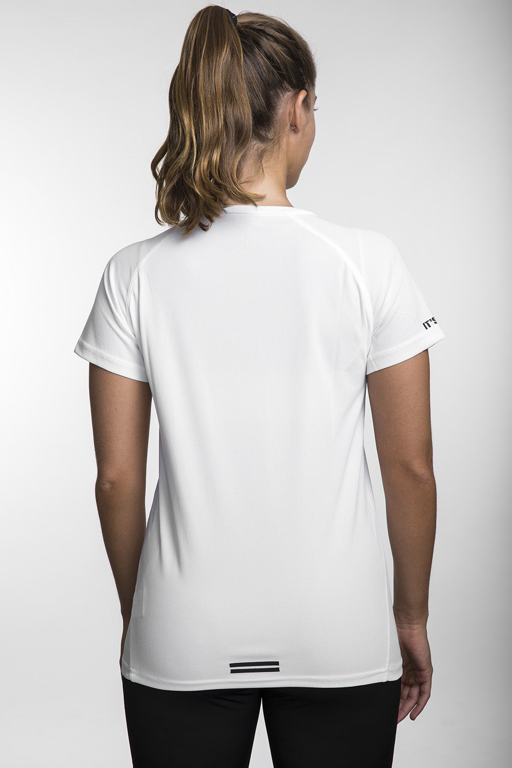 Running Lightweight V Women White חולצת ריצה