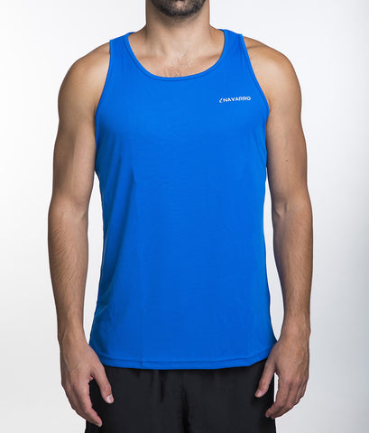 Running Lightweight Tank Top Blue גופית ריצה