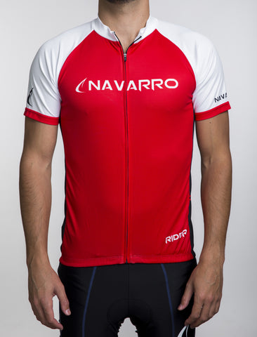 Custom Cycling Jersey - ARS Red