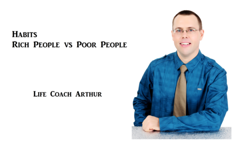 Habits Rich People vs Poor People