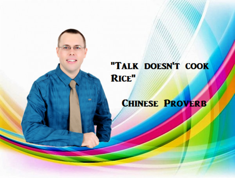 TALK DOESN'T COOK RICE by Arthur Peter