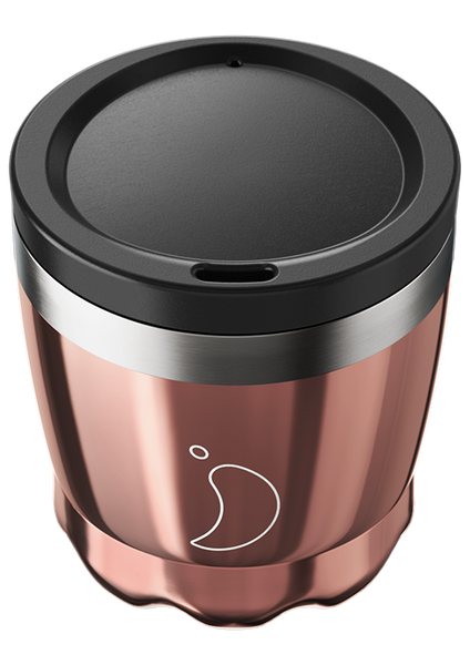 Chilly's Coffee Cup: Chrome Rose Gold