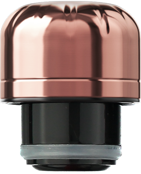 Accessories: Chrome Rose Gold Lid