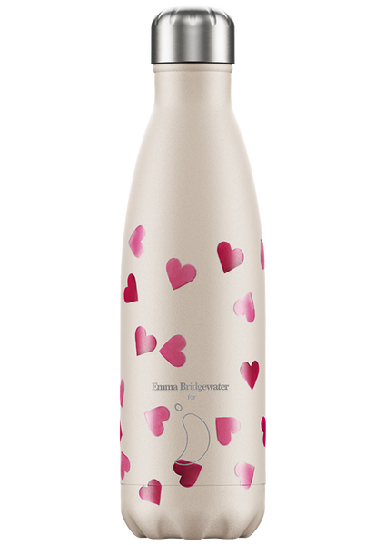 Chilly's Bottle: Pink Hearts