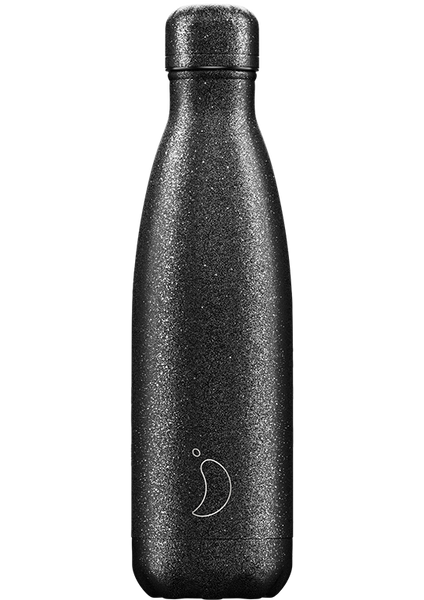 Chilly's Bottle: Glitter Black