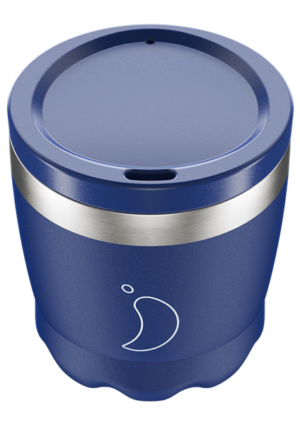Chilly's Coffee Cup: Matte Blue