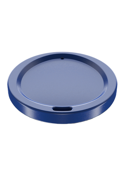 Accessories: Matte Blue Coffee Cup Lid