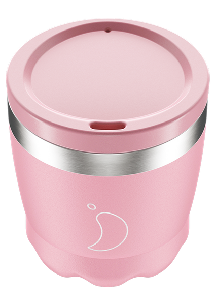 Chilly's Coffee Cup: Pastel Pink