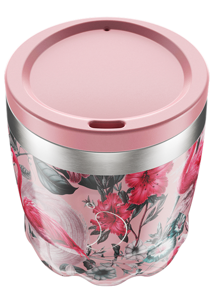 Chilly's Coffee Cup: Tropical Flamingo