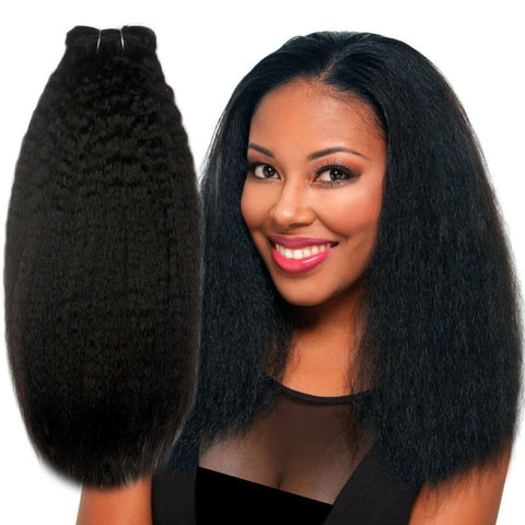Mongolian Coarse Yaki Straight Clip-in Set