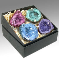 Agate Geodes Gift Box