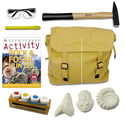 De-Luxe Junior Fossil Hunting Kit
