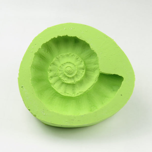 Ammonite fossil silicone mould (large)