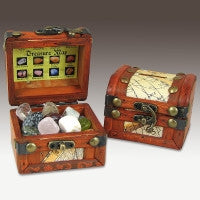Pirate's Gemstone Treasure Chest