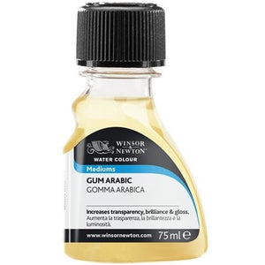 Winsor & Newton Gum Arabic 75ml-Watercolour-Brush and Canvas
