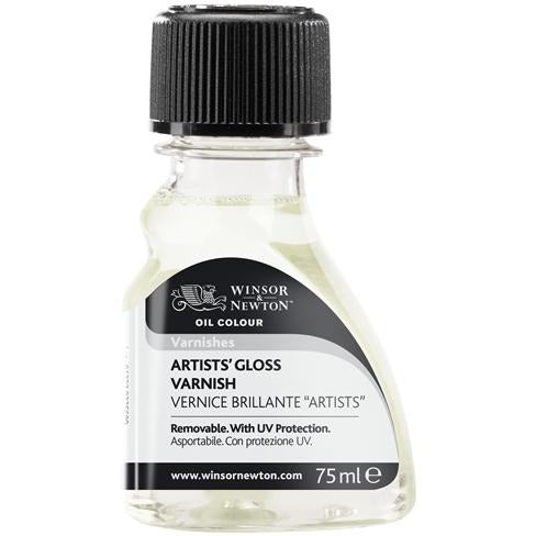 Winsor & Newton Artist Gloss Varnish-Varnishes-Brush and Canvas