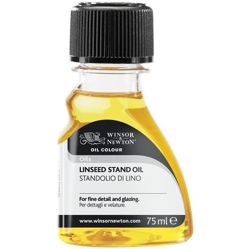 Winsor & Newton Linseed Stand Oil 75ml-Oil-Brush and Canvas