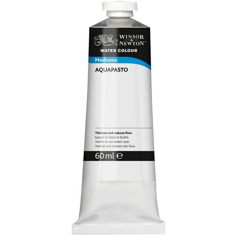 Winsor & Newton Aquapasto Medium 60ml-Watercolour-Brush and Canvas