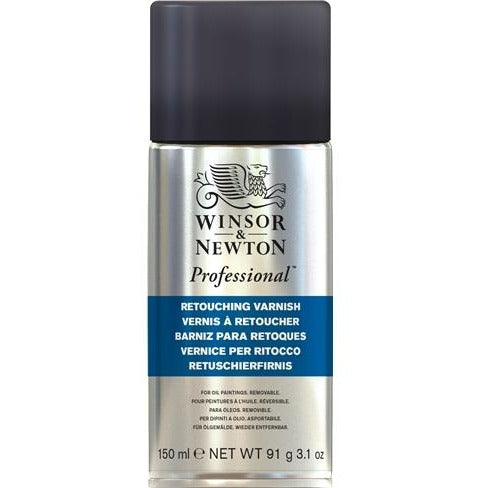 Winsor & Newton Professional Artists' Retouching Varnish-Varnishes-Brush and Canvas
