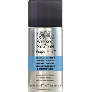 Winsor & Newton Professional Artists' Dammar High Gloss Varnish-Varnishes-Brush and Canvas