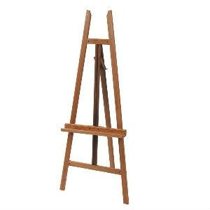 Wooden A-Frame Basic Easel (EA11)-Easels-Brush and Canvas