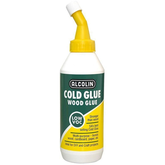 Alcolin Wood Glue-Adhesives & Tapes-Brush and Canvas