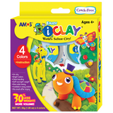 Amos I-Clay 4 Colours-Clay & Dough-Brush and Canvas