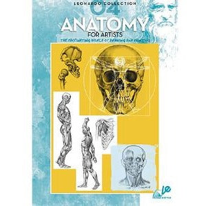 Leonardo Collection - Anatomy for artists-Art Reference Books-Brush and Canvas