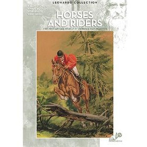 Leonardo Collection - Horses & Riders-Art Reference Books-Brush and Canvas