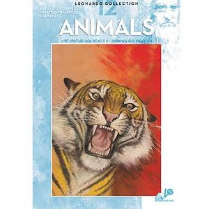 Leonardo Collection - Animals (012)-Art Reference Books-Brush and Canvas