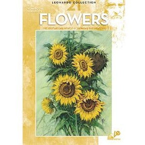 Leonardo Collection - Flowers (021)-Art Reference Books-Brush and Canvas