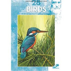 Leonardo Collection - Birds-Art Reference Books-Brush and Canvas