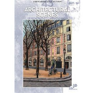 Leonardo Collection - Architectural Scenes-Art Reference Books-Brush and Canvas