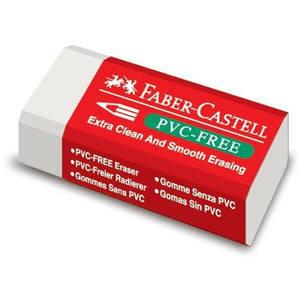 Faber-Castell PVC Free Pencil Eraser-Erasers-Brush and Canvas