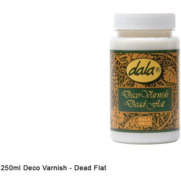Dala Deco Varnish Dead Flat-Varnishes-Brush and Canvas