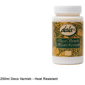 Dala Deco Varnish Heat Resistant-Varnishes-Brush and Canvas