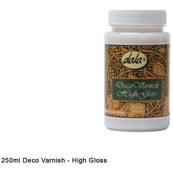 Dala Deco Varnish Gloss-Varnishes-Brush and Canvas