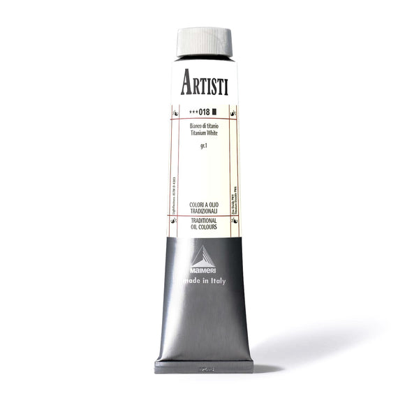 MAIMERI ARTISTI Oil - Titanium White 200ml