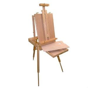 Wooden French Box Style Easel (EA2)-Easels-Brush and Canvas