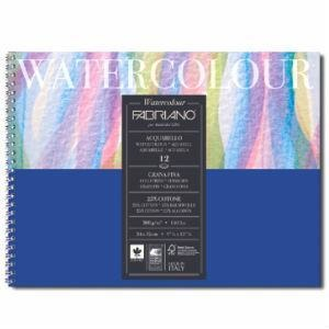 Fabriano Watercolour Studio Album 300gsm 12 Sheets-Watercolour Pads-Brush and Canvas
