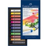 Faber-Castell Soft Pastels Assorted Colours-Soft Pastels-Brush and Canvas