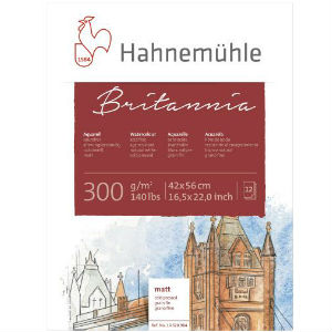 HAHNEMUHLE Britannia 300gsm (5 sheets)