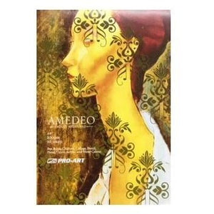 Amedeo Mixed Media Pad 200gsm - Textured-MIXED MEDIA PADS-Brush and Canvas