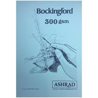 Ashrad Bockingford Pad 300gsm-Watercolour Pads-Brush and Canvas