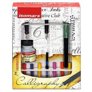Isomars Calligraphy Set - Arabic-Calligraphy-Brush and Canvas